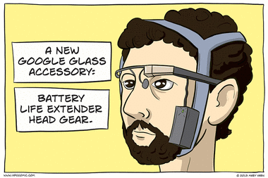 A Google Glass Accessory
