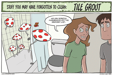 Stuff You May Have Forgotten to Clean: Tile Grout