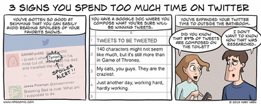 3 Signs You Spend Too Much Time on Twitter