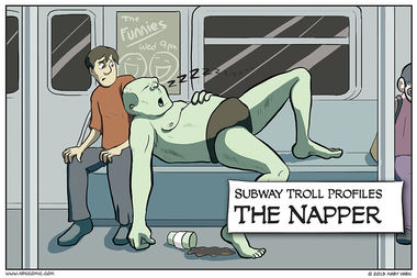 Subway Troll Profiles – The Napper