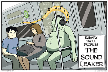 Subway Troll Profiles – The Sound Leaker