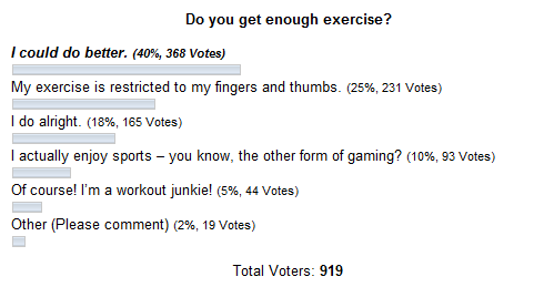 Geekercise Poll