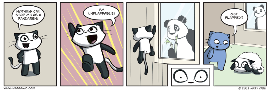 Don't be a Sad Panda, Pad Sanda - you have munchies!