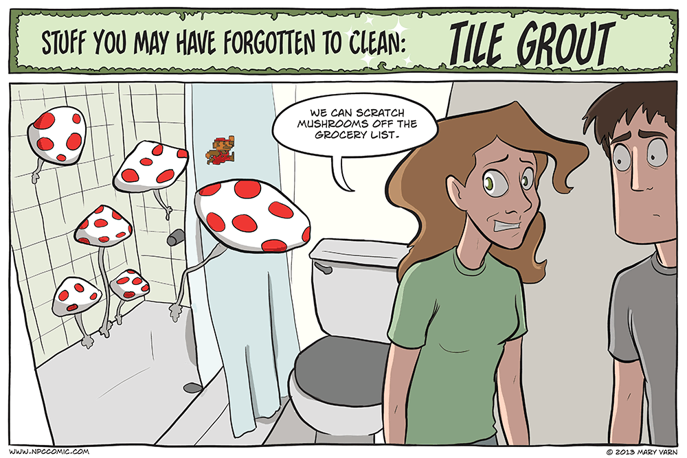 Bathroom mushrooms are extra nutritious.