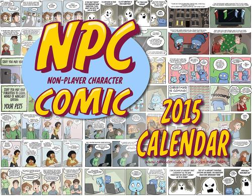 NPC Comic 2015 Calendar cover